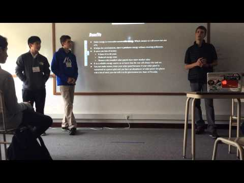 Session 6: Climate Change: Smart Solar Bench