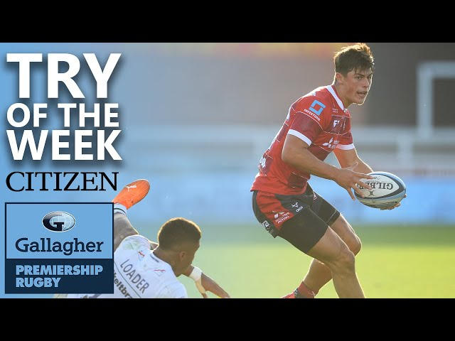 Try Of The Week | Rees-Zammit Gas, Bristol's Box of Tricks & More! | Gallagher Premiership 2019/20