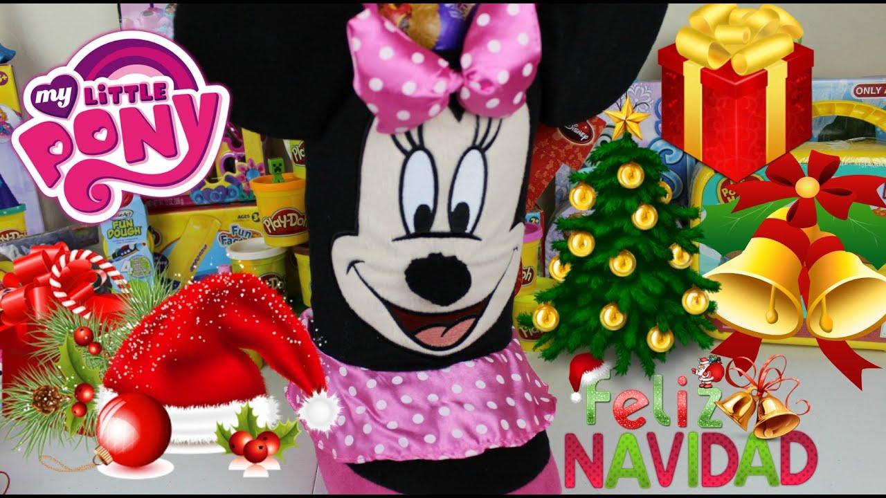 Bota navide a de minnie mouse con sorpresas y regalos - Sorpresas para navidad ...