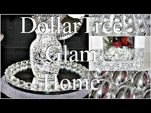 Glam Home Tour|| DIY Styled  Home