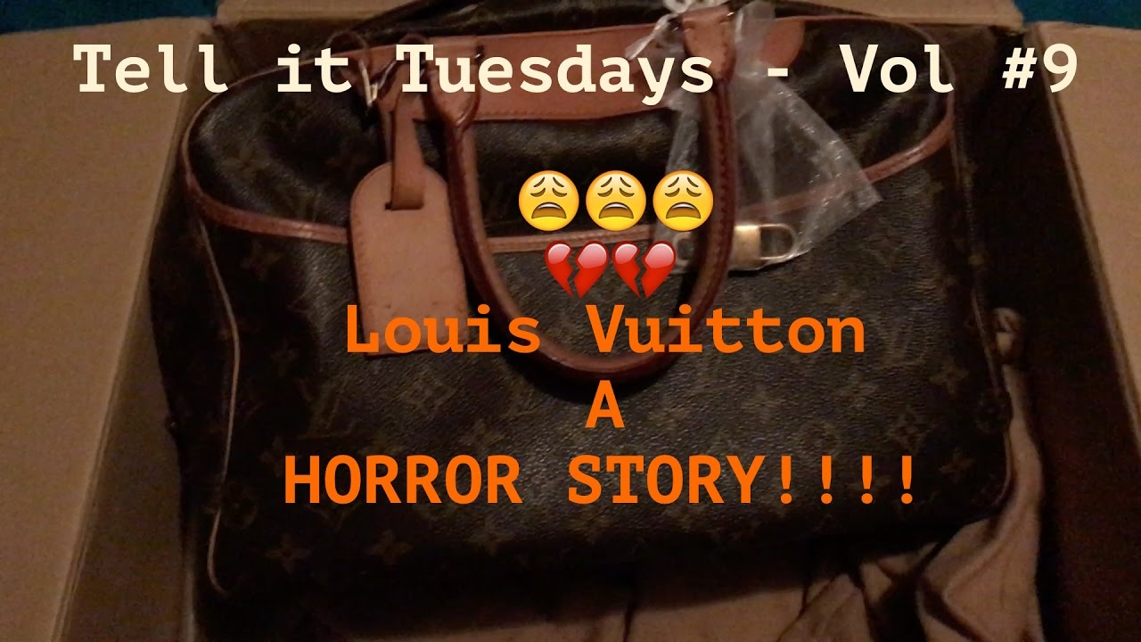 Lous Vuitton Horror Story - A Pre-Loved Nightmare!!! - YouTube 9043d3e864a