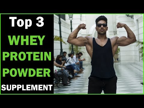 Top 3 Protein Powder Supplement in India