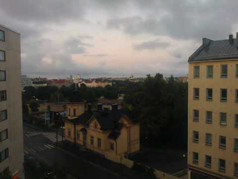 Helsinki skyline from Toinen linja