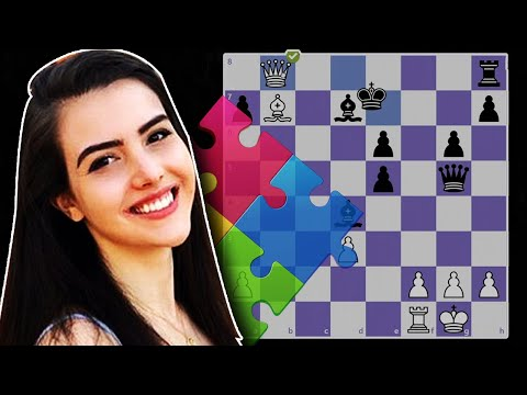 Chess Puzzle Solving Session with Alexandra Botez
