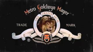 MGM Lions with Electronic Sounds