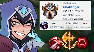 conqueror Talon is balanced :)