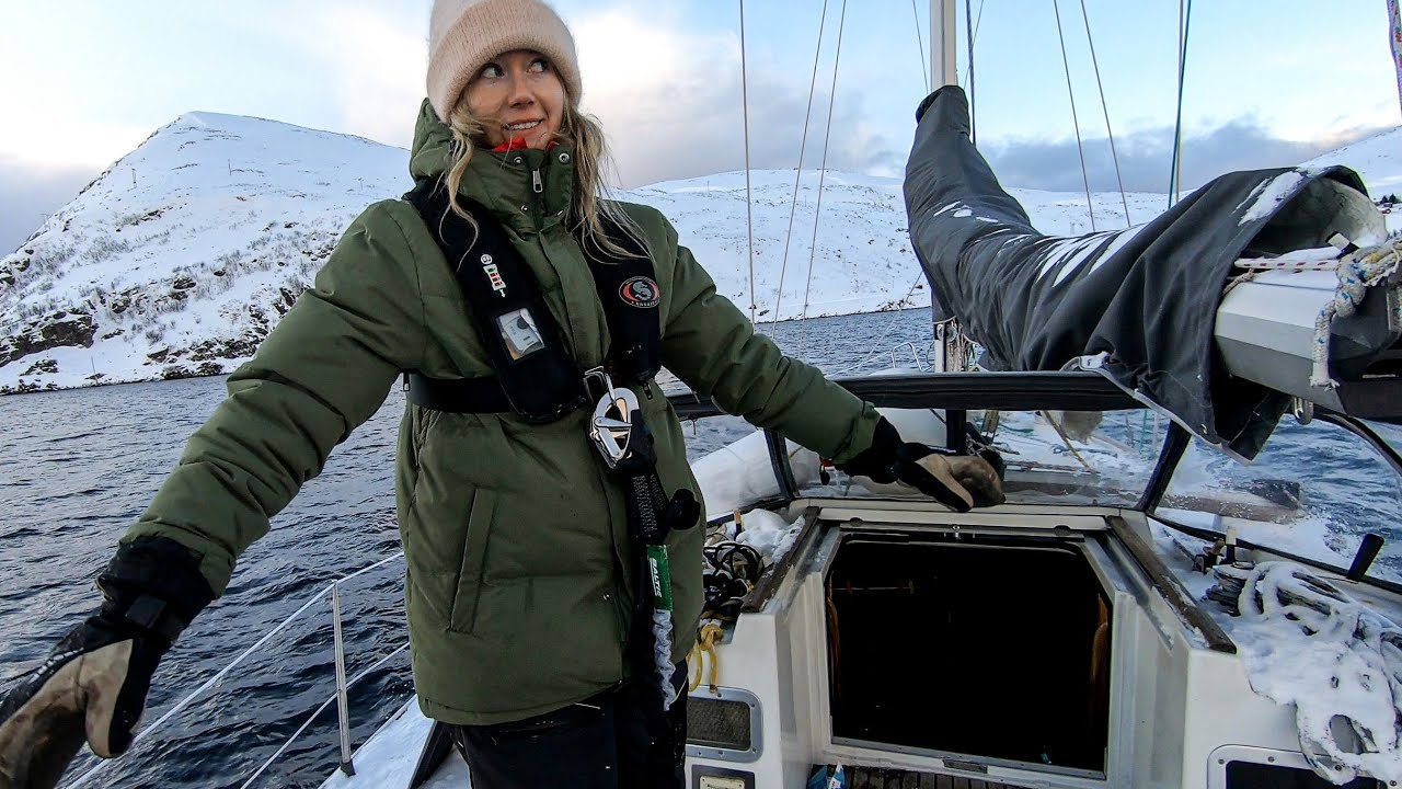 sailing to world's northernmost city - in WINTER!