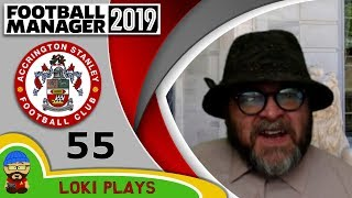Football Manager 2019 - Episode 55 - Gregory Fairchild - The Stanley Parable - FM19