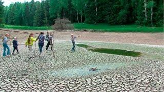 160613 Вода в озере исчезла вместе с рыбой