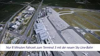 Frankfurt Airport: Visualisierung von Terminal 3