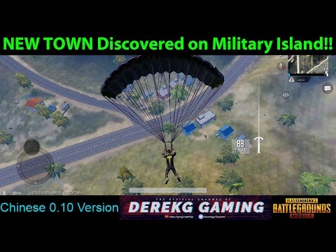 NEW TOWN FOUND on Military Base in Lightspeed 0.10 Update - PUBG Mobile with DerekG