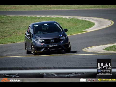 Honda Jazz/Fit On Track! Faster Than A WRX STI?!?!!