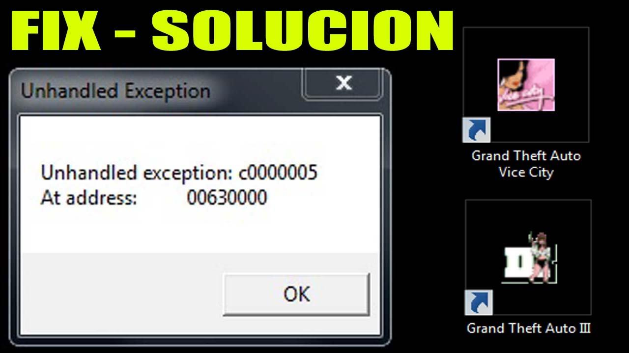 exception c00005
