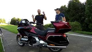 видео Тест-драйв мотоцикла - Honda Gold Wing Tour 2018 DCT. Лучше – меньше