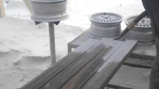 Пескоструй профильной трубы Полтава.(, 2016-03-23T14:05:53.000Z)
