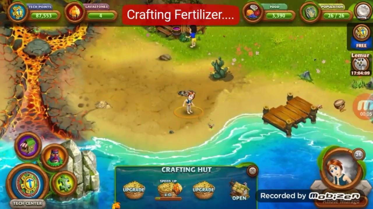 Virtual villagers origine 2    Crafting Fertilizer