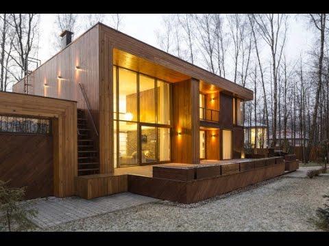Planos de casa de dos pisos construida en madera youtube - Casas de madera planos ...