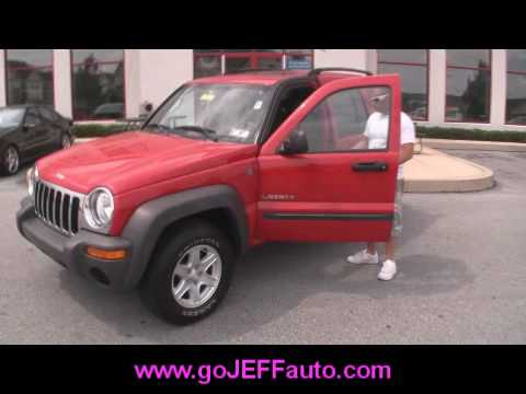 2004 jeep liberty sport 4x4 jeff d 39 ambrosio auto group. Black Bedroom Furniture Sets. Home Design Ideas