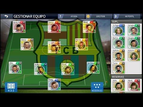 DESCARGAR LA PLANTILLA DE FC BARCELONA PARA DREAM LEAGUE SOCCER 16 + ...
