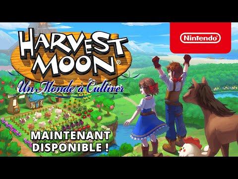 Harvest Moon: Un Monde à Cultiver – Maintenant disponible (Nintendo Switch)
