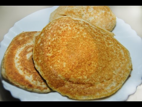 Panquecas de avena (Desayuno saludable)