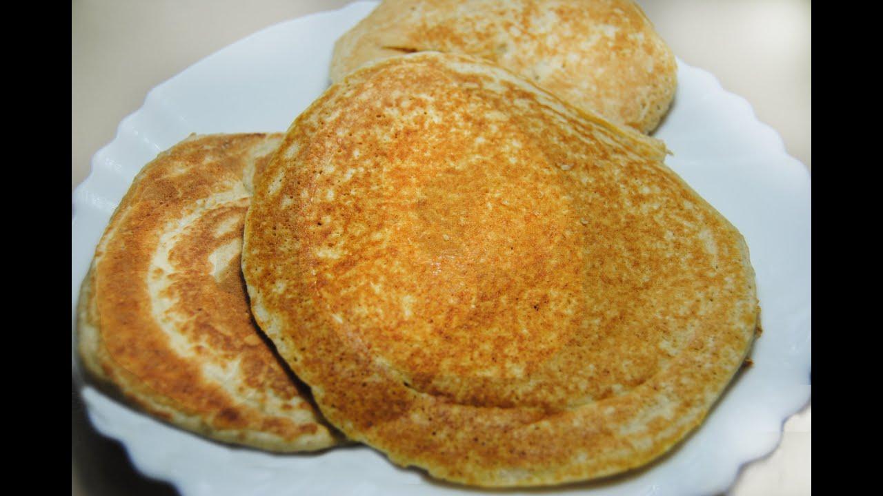 Panquecas De Avena Desayuno Saludable Youtube