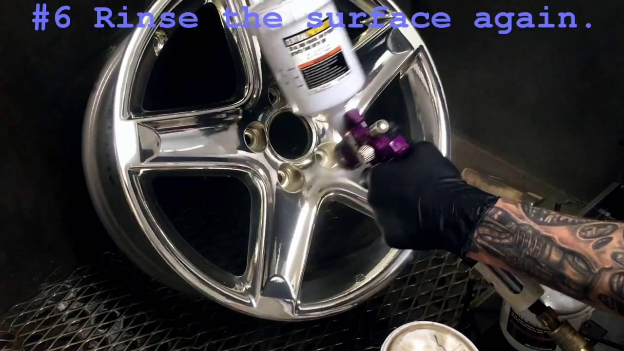 How to Chrome a Wheel
