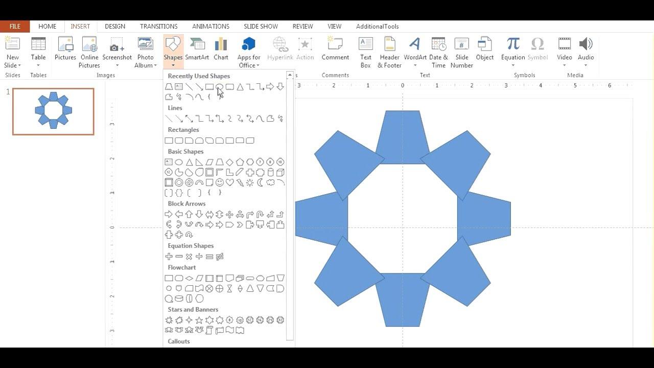 Create a custom gear shape in powerpoint youtube create a custom gear shape in powerpoint buycottarizona Gallery