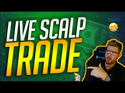 LIVE SCALP TRADE | Trade Like A Bank | Forex Strategy