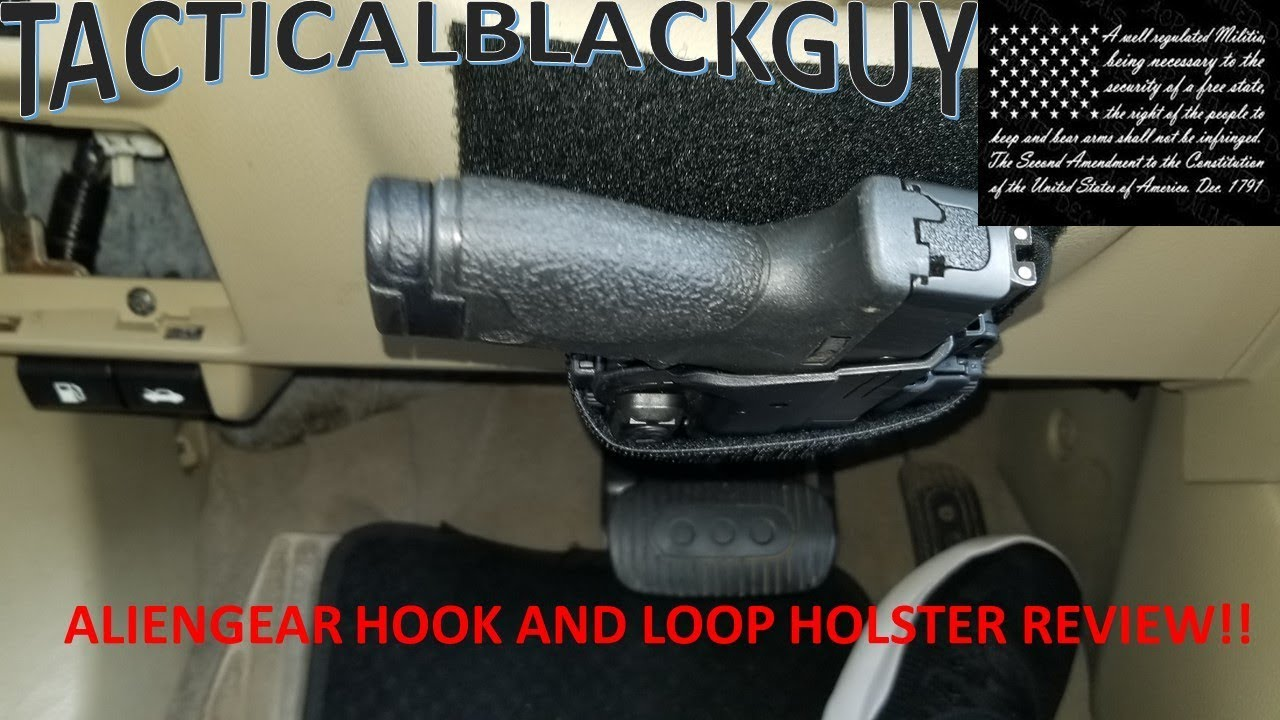 ALIENGEAR HOOK AND LOOP HOLSTER REVIEW!