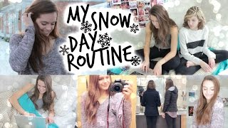 My Snow Day Routine! | a Day in My Life