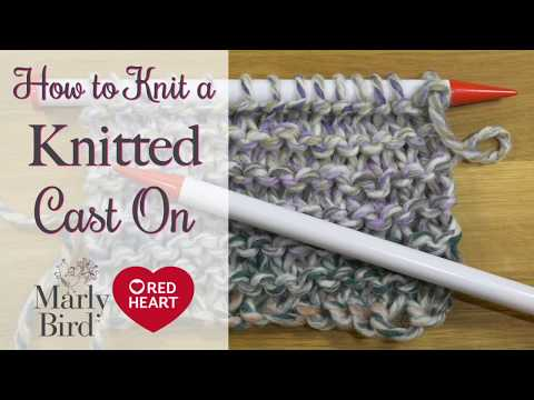 How to do the Knitted Cast On