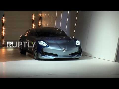 Germany: Borgward's Isabella concept car steals the show at Frankfurt IAA