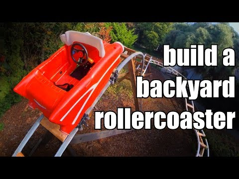 How to Build a Backyard Rollercoaster (for less than $500)