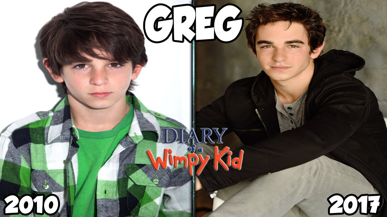 Diary Of A Wimpy Kid Cast Then And Now 2017 Youtube