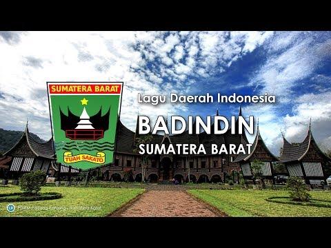 Badindin - Lagu Daerah Sumatera Barat (Karoke Dengan Lirik)