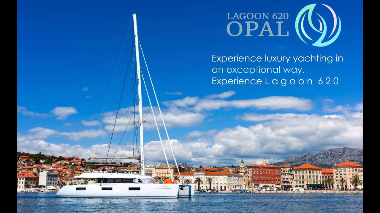 Chartering in Croatia on Catamaran Opal   HD 1080p