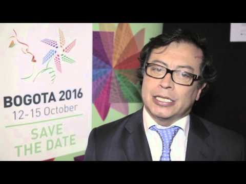 Interview Gustavo Petro, former Mayor of Bogotá at the UCLG World Council in Paris 2015