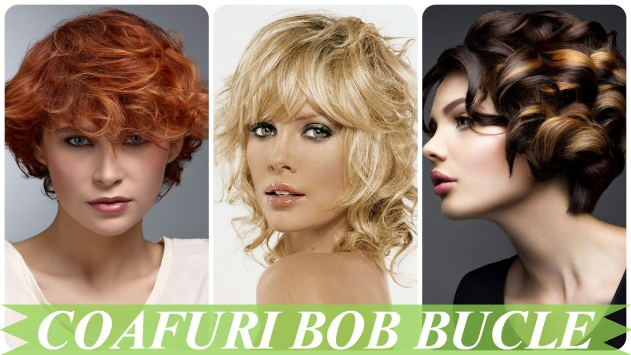 Modele Coafuri Bob Bucle 2018