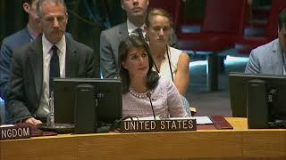 7-24-18 Nikki Haley Makes Remarks at UN Security Council Open Debate On Middle East