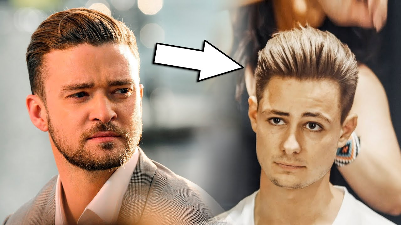 Justin Timberlake Classic Haircut Hairstyle 2018 Mens Hair