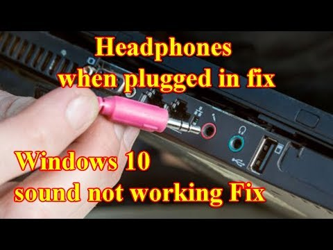 Windows 10 Not Detecting Headphones When Plugged In Fix 2019