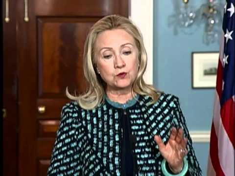 Secretary Clinton Delivers Remarks With Qatari Prime Minister Al Thani