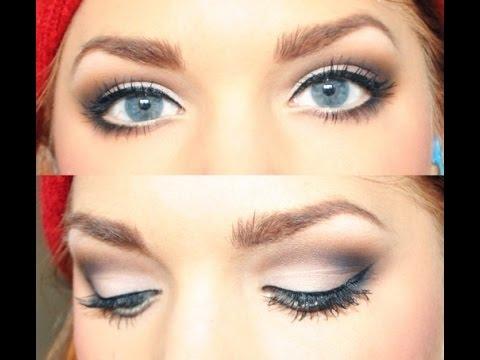 Макияж для голубых глаз свадебный