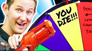 NERF Roulette Challenge! [Ep 6]