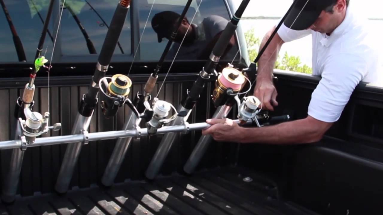 Portarod Fishing Rod Holder Transporter For Truck Bed