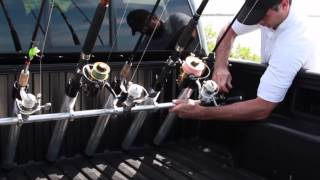 Portarod - Fishing Rod Holder / Transporter For Truck Bed