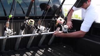 Portarod - Fishing Rod Holder / Transporter For Truck Bed
