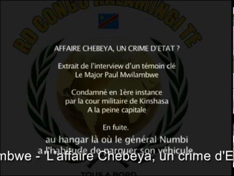 Qui a tué Floribert Chebeya , de Paul Mwilambwe