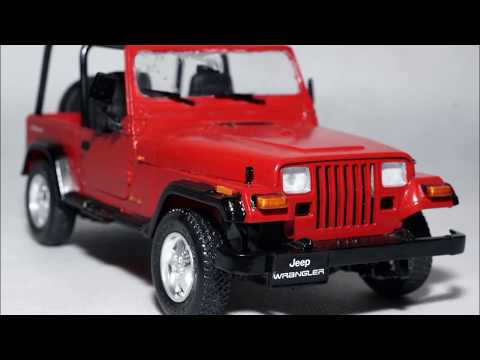 Jeep Wrangler 1/24, Tamiya 24154